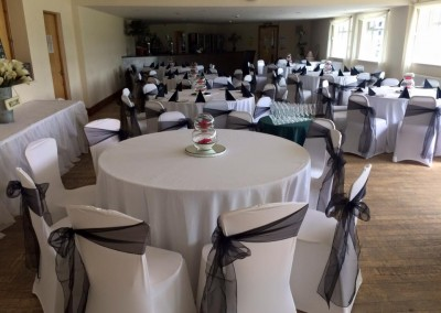 Centre Pieces & Chair Table Covers (10)