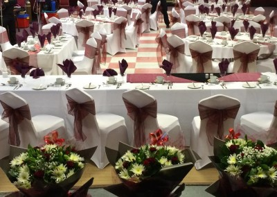 Centre Pieces & Chair Table Covers (11)