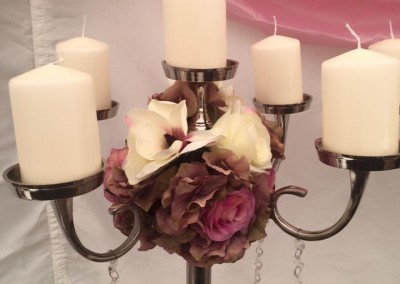 Centre Pieces & Chair Table Covers (12)