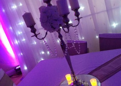 Centre Pieces & Chair Table Covers (18)