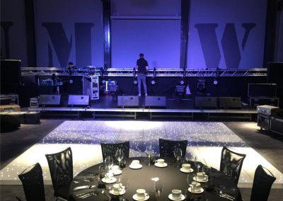 Liverpool LED dance Floors Centre Pieces Chair & Table Covers Premier party Events 2