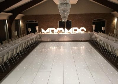 Liverpool LED dance Floors Centre Pieces Chair & Table Covers Premier party Events 6