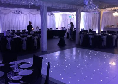 Liverpool LED dance Floors Centre Pieces Chair & Table Covers Premier party Events 7