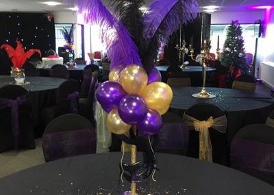 Venue Decoration Liverpool Centre Pieces Chair & Table Covers (10)
