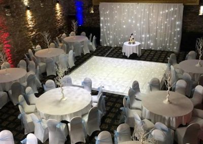 Venue Decoration Liverpool Centre Pieces Chair & Table Covers (11)