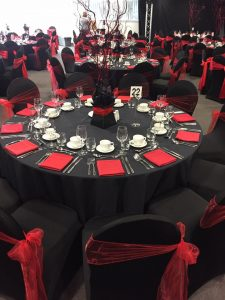 Venue Decoration Liverpool Centre Pieces Chair & Table Covers