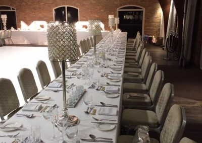 Venue Decoration Liverpool Centre Pieces Chair & Table Covers (7)