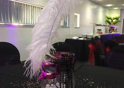 Venue Decoration Liverpool Centre Pieces Chair & Table Covers (8)