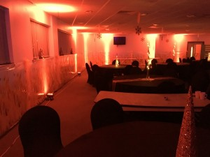 Liverpool LED dance Floors Centre Pieces Chair & Table Covers